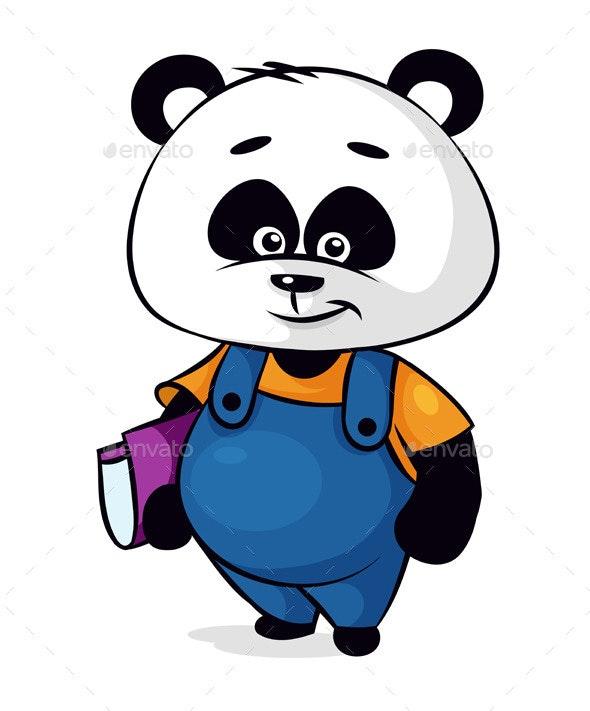 Panda Cartoon Character - Animals Characters