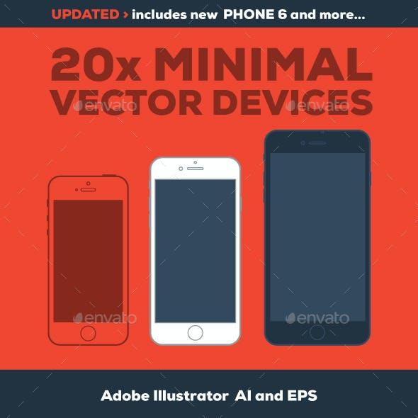 20 Minimal Vector Devices