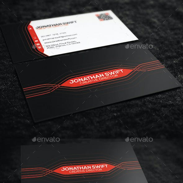 Modern Personal Business Card No.01