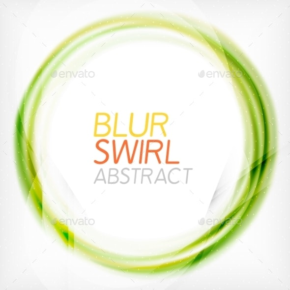 Business Color Swirl, Minimal Design Template - Abstract Conceptual