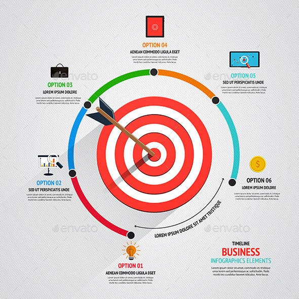 Business Target Marketing Concept