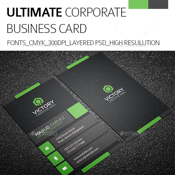 Ultimate & Corporate Business Card