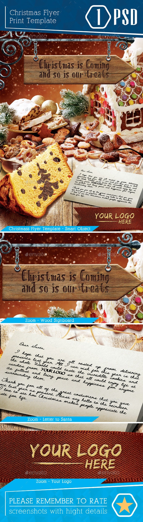 Flyer Christmas is coming - Holidays Events