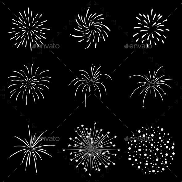 Fireworks Set - Seasons/Holidays Conceptual