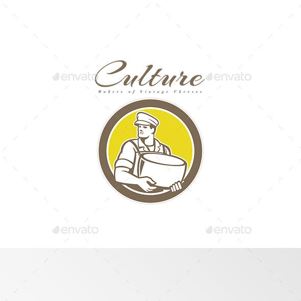 Culture Makers of Vintage Cheese Logo