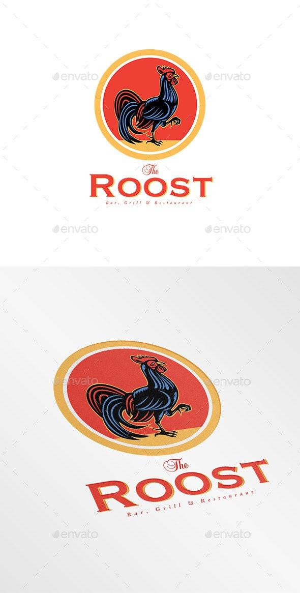 The Roost Bar Logo - Animals Logo Templates