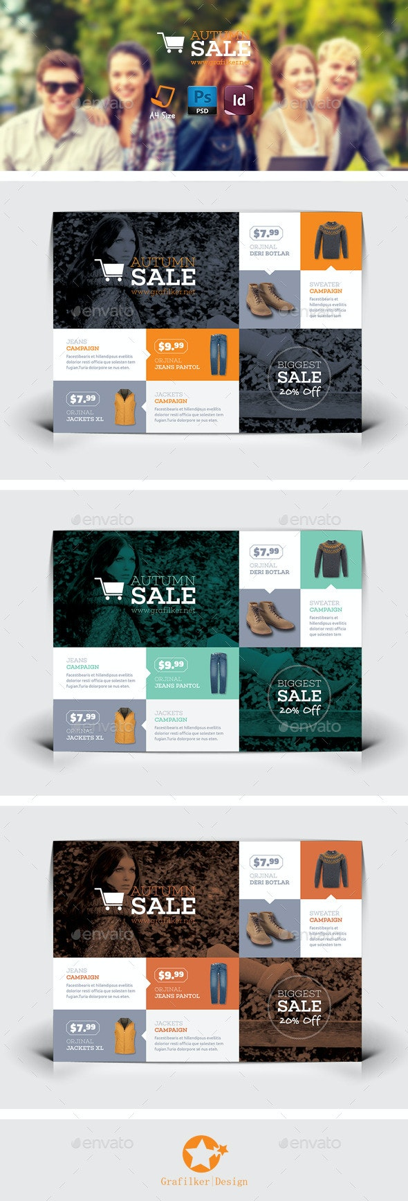 Shopping Flyer Templates - Corporate Flyers