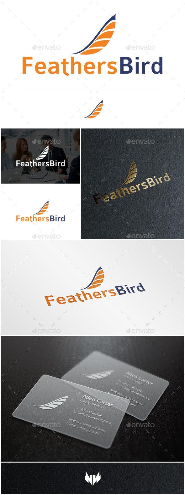 FeathersBird Logo Template