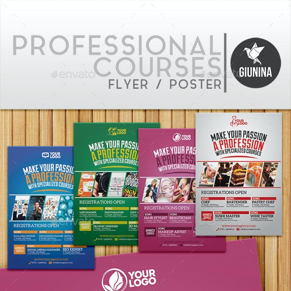 Professional Courses Flyer/Poster