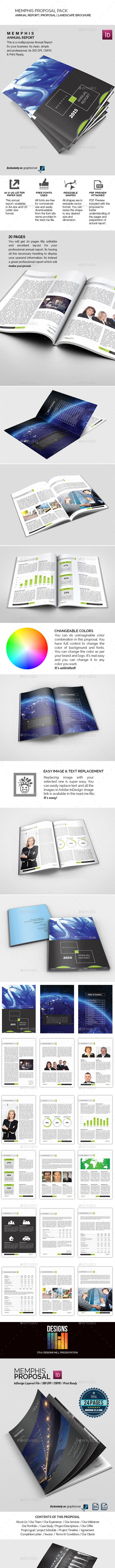 Proposal Pack - Proposals & Invoices Stationery