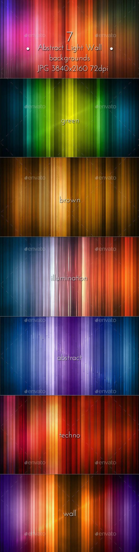 Abstract Illumination Light Panel - Tech / Futuristic Backgrounds