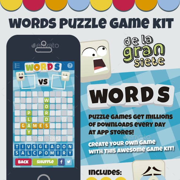 Words Puzzle Game Kit