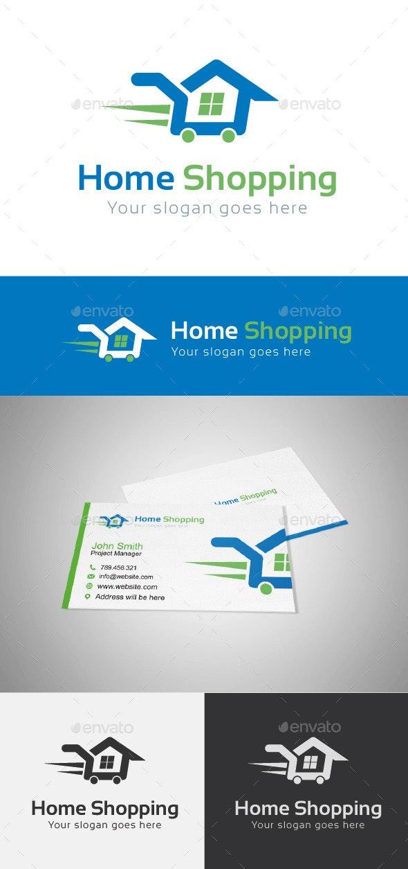 Home Shopping Logo Template - Buildings Logo Templates