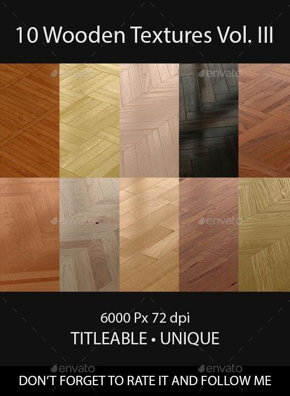 10 Wooden Floor Tileable Texture Vol. III - Wood Textures