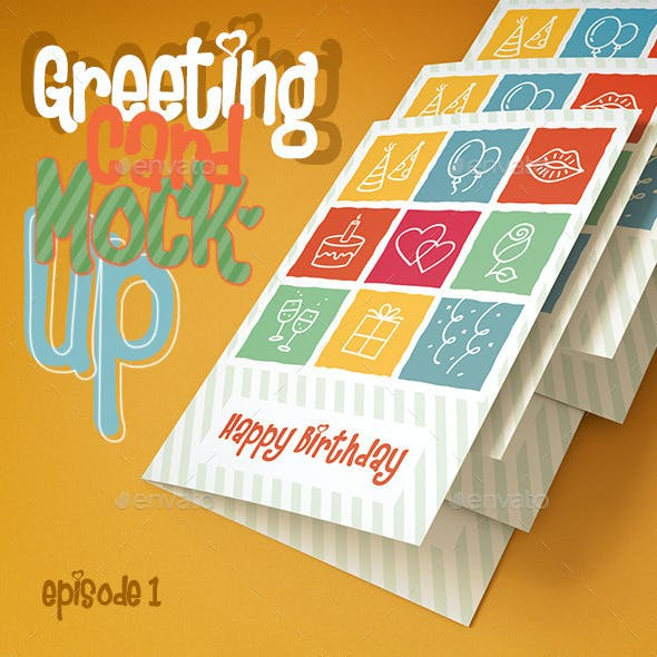Greeting Card Episode One Mock-Up