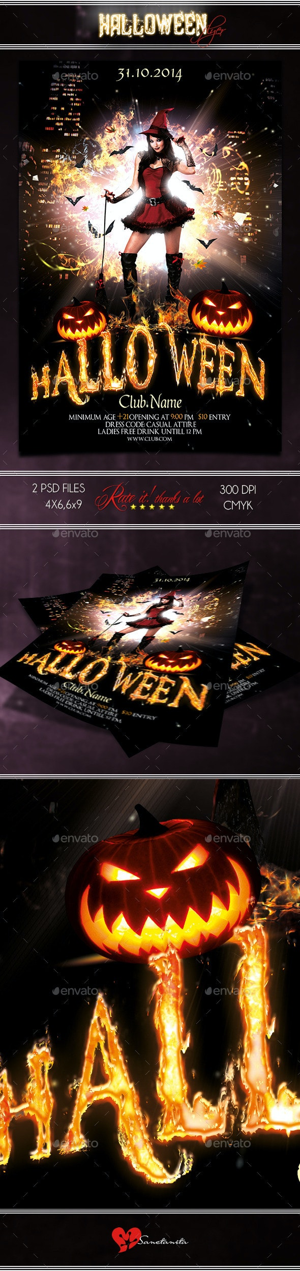 Halloween Flyer 3 - Holidays Events