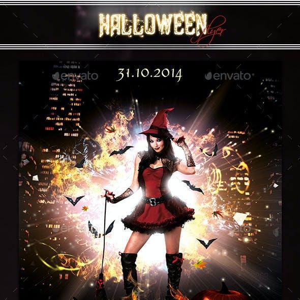 Halloween Flyer 3