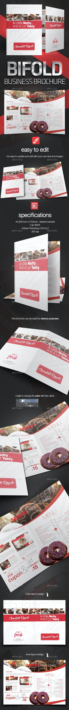 Bifold Business Brochure - Corporate Brochures