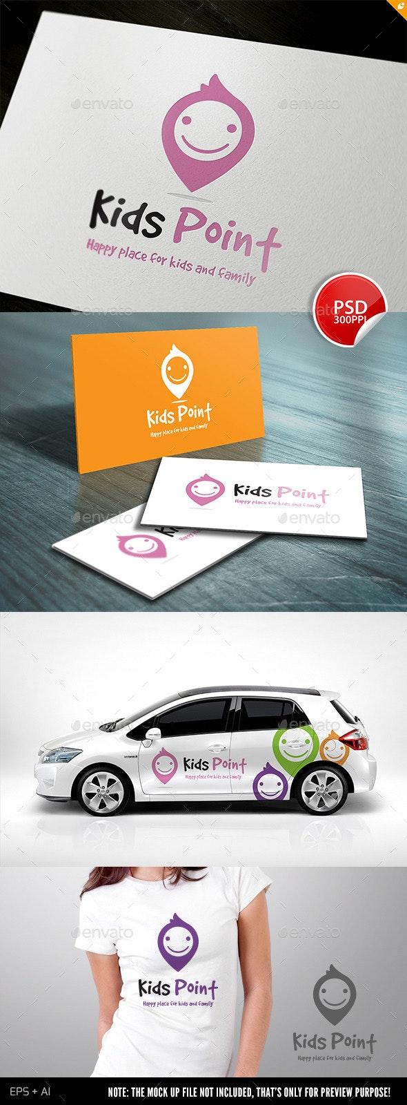 Kids Point - Humans Logo Templates