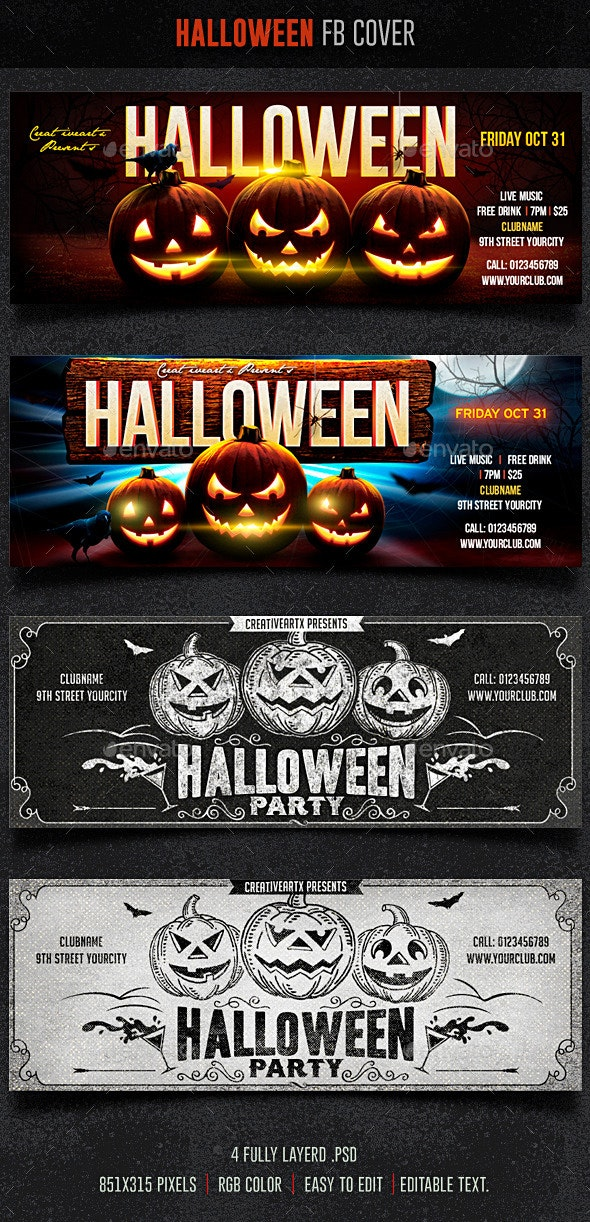 Halloween FB Cover - Facebook Timeline Covers Social Media