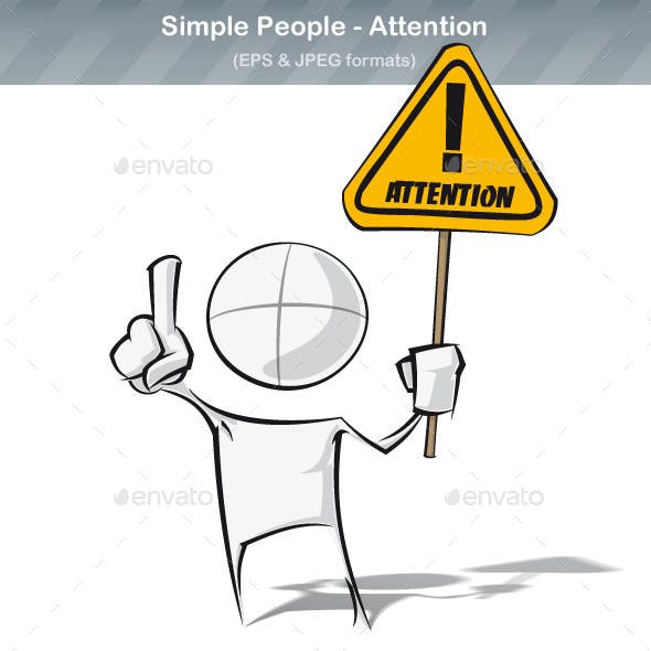 Simple People - Attention