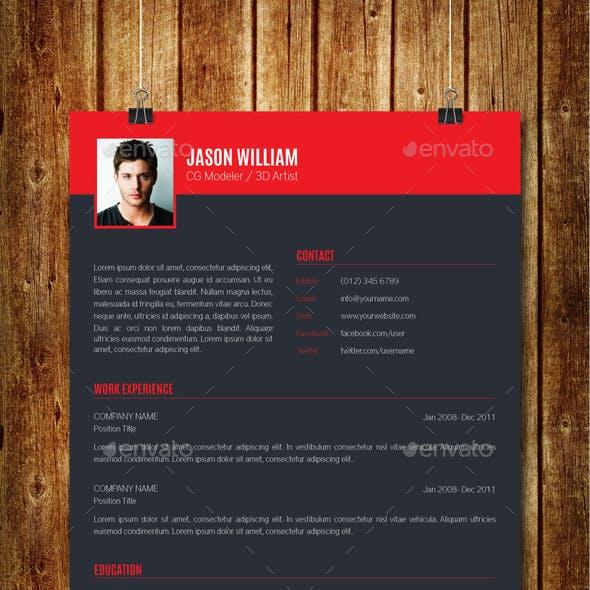 Clean Modern Resume V10
