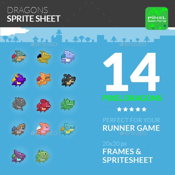 Dragon Sprite Sheet