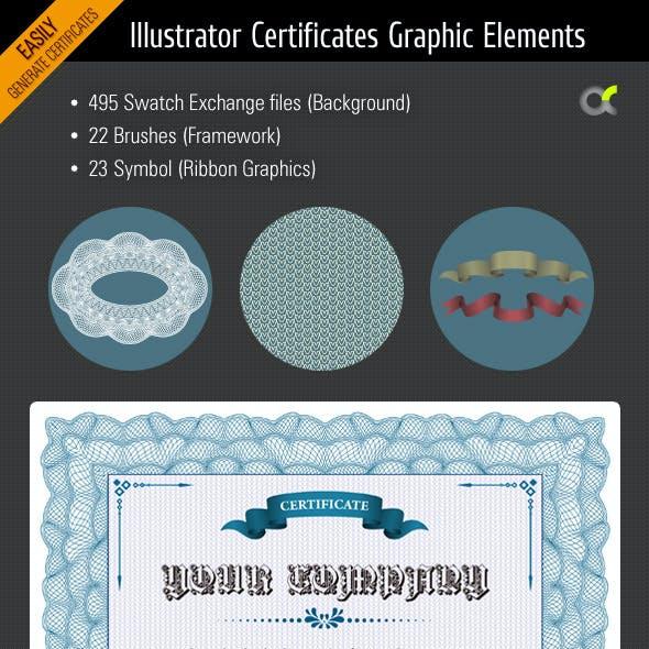Illustrator Certificates Graphic Elements