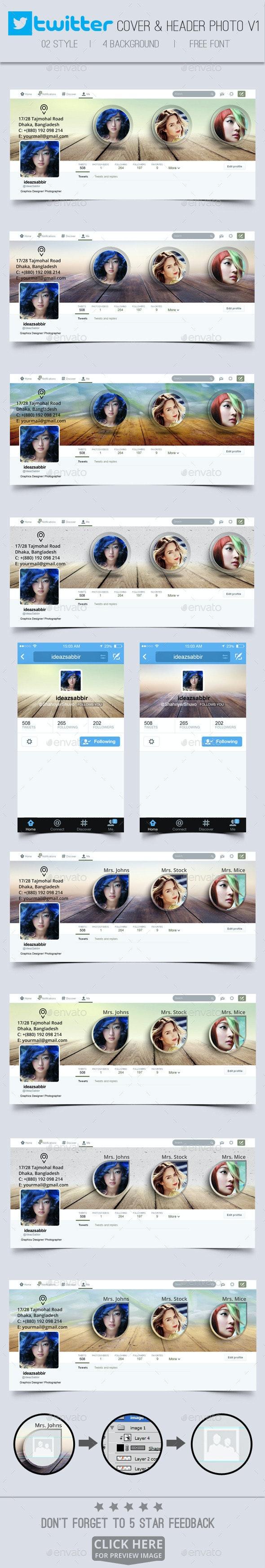 Twitter Header Photos V01 - Twitter Social Media