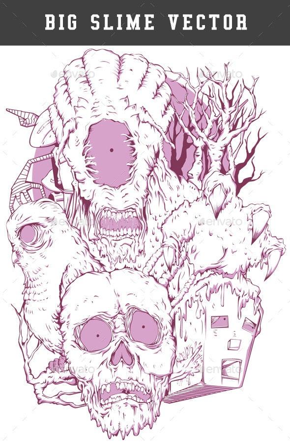Big Slime - Monsters Characters