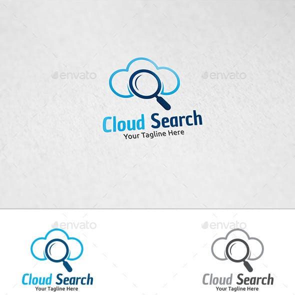 Cloud Search - Logo Template