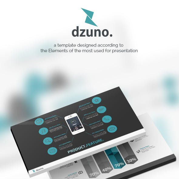 Dzuno - Ready Set World Powerpoint Template