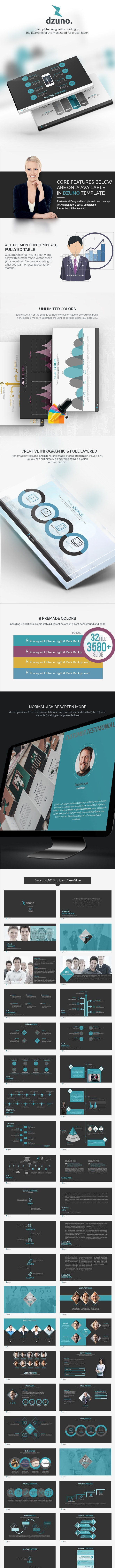 Dzuno - Ready Set World Powerpoint Template - Business PowerPoint Templates