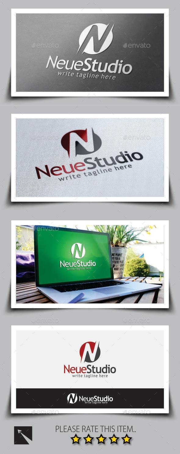 Letter (N) Logo Template - Letters Logo Templates
