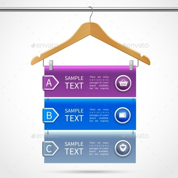 Clothes Hanger Sale Infographics - Retail Commercial / Shopping
