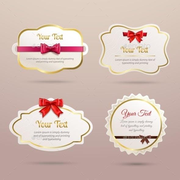 Gift Labels Set