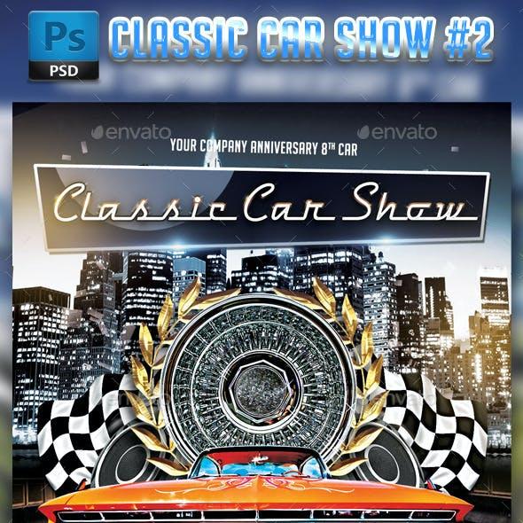 Classic Car Show flyer #2