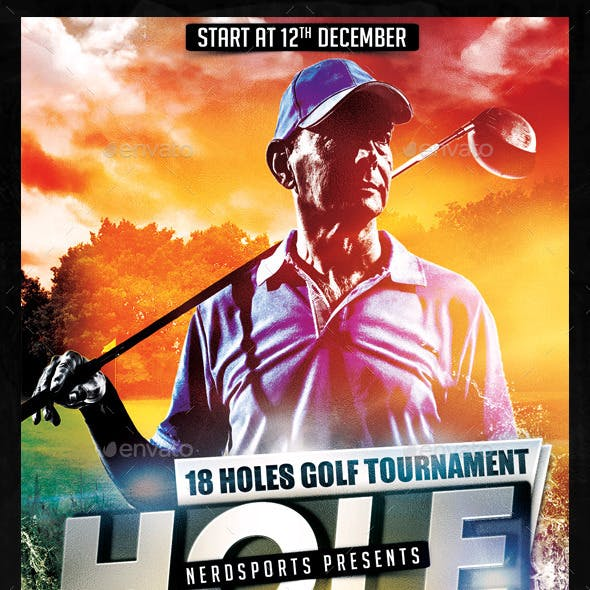 Golf Competition Flyer