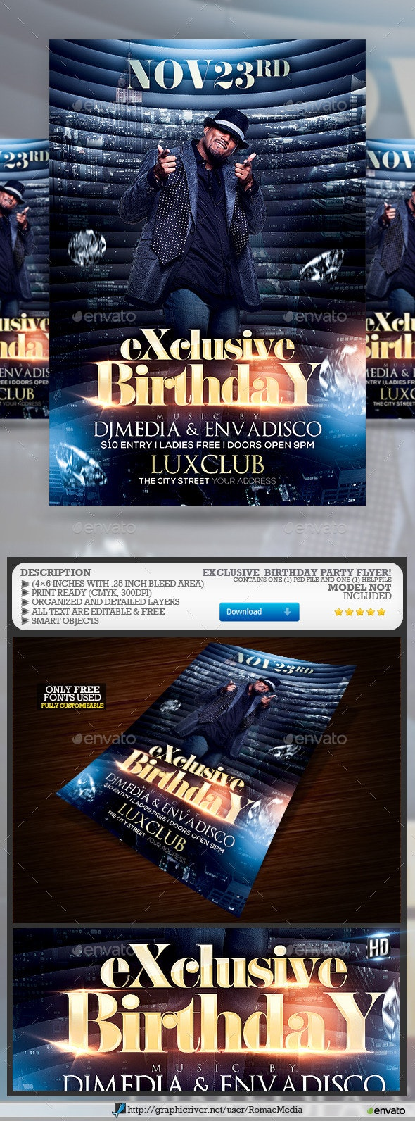 Exclusive Birthday Party - Clubs & Parties Events