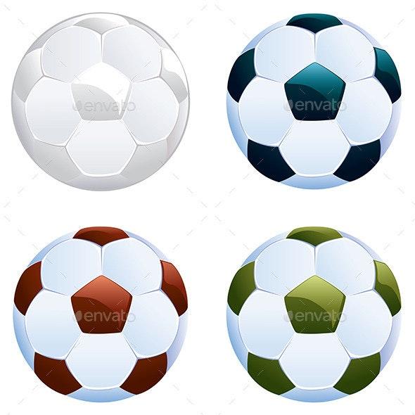 Soccer Ball Icon - Sports/Activity Conceptual