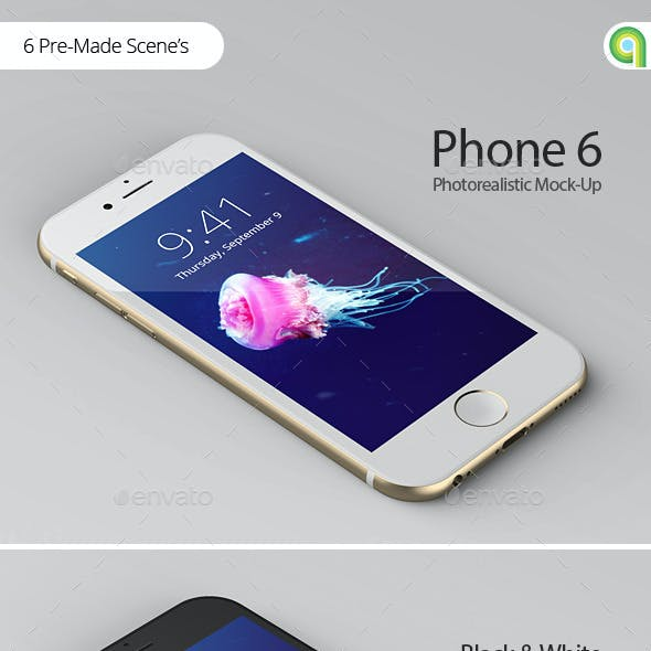 Phone 6 Plus App Mock-Up