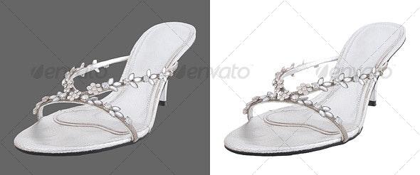 Single High Heel Shoe
