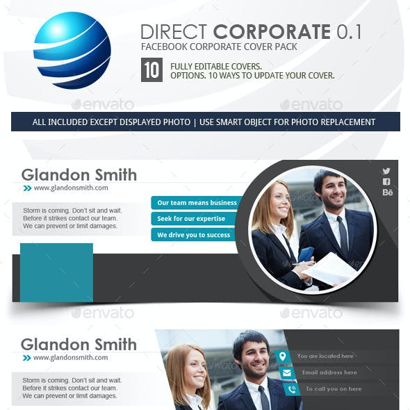 Corporate Facebook Timeline Covers