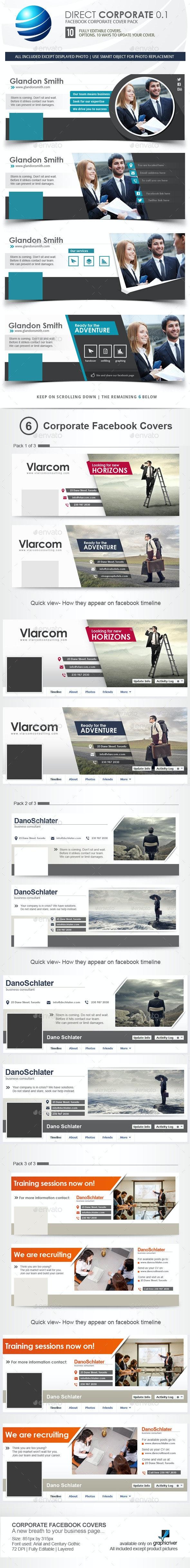 Corporate Facebook Timeline Covers - Facebook Timeline Covers Social Media