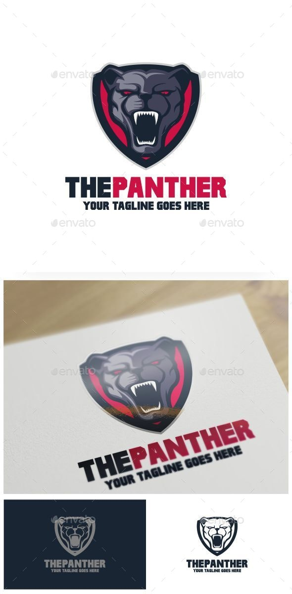 The Panther Logo Template