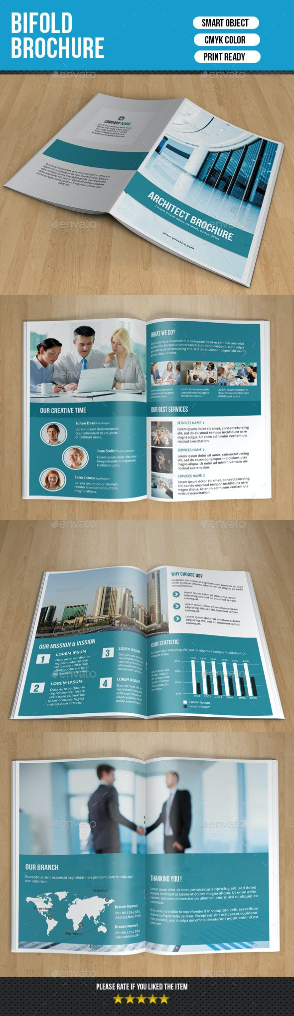 Bifold Business Brochure-V137 - Corporate Brochures