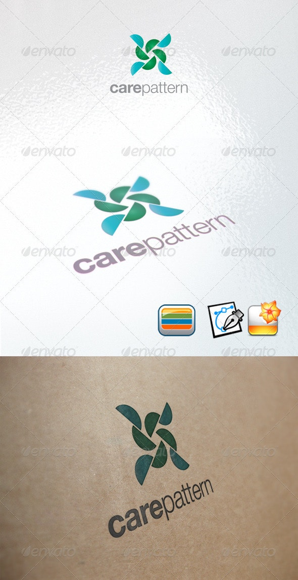 Carepattern - Abstract Logo Templates