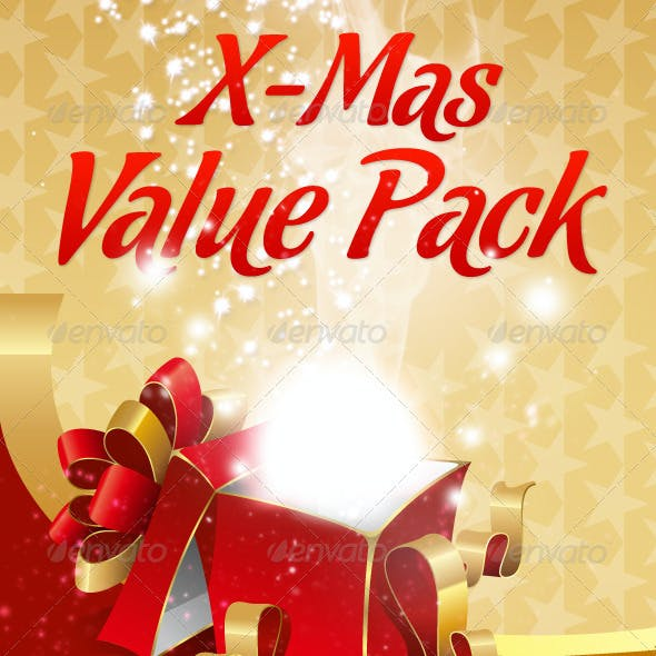 X-Mas Value Pack   Cards, Elements, Styles, Fotos
