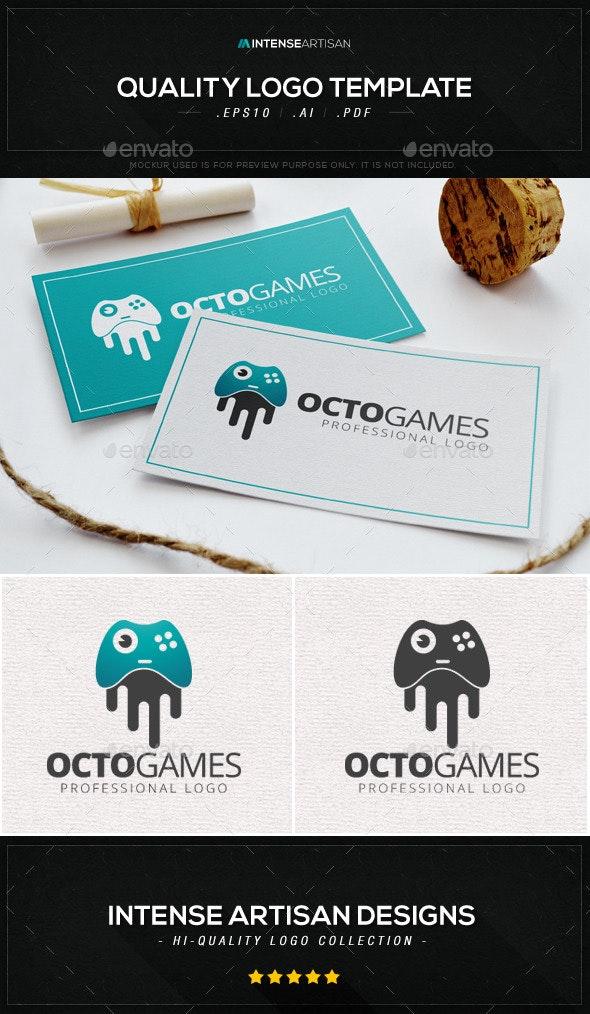 Octo Games Logo Template - Animals Logo Templates