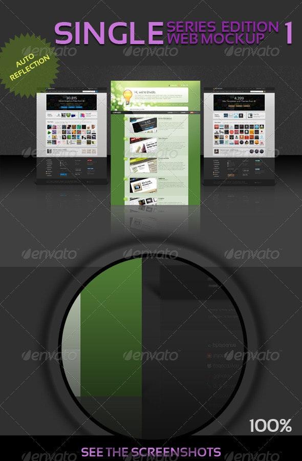 Web Mockup - Single Series - 1 - Website Displays